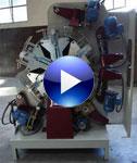 Video: Máquina Plumadora para Escobas, Cepillos y Escobillones